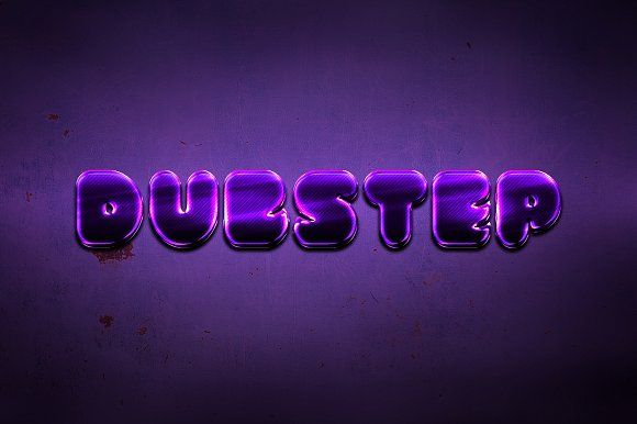 Dubstep Text Styles for Photoshop by Creativenauts on @creativemarket