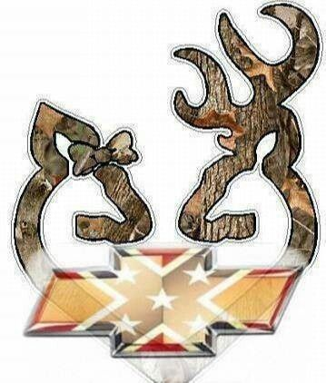 Chevy...Rebel Flag...AND Browning... AWESOMENESS!!! :)