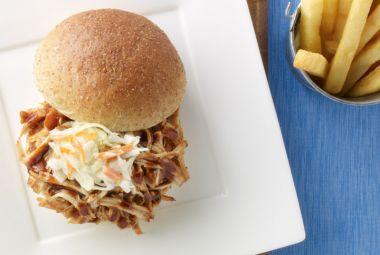 Pulled Turkey Barbeque Sandwiches | #lowfat #turkey #sandwiches | http ...