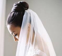 Risultati immagini per acconciatura sposa chignon alto con velo