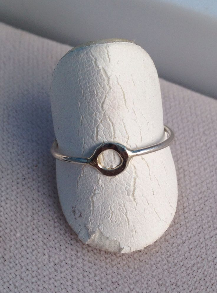 The ring ring. Hand crafted in Sterling silver and 14k gold. #careypearsondesigns