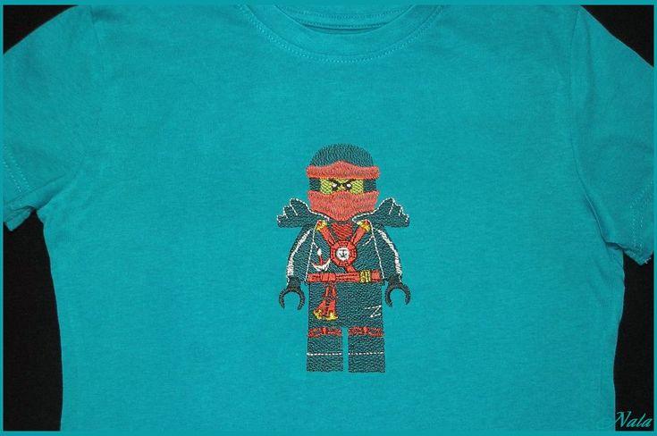 Лего человечки - Дарт Вейдер, Ниндзяго Кай, Майнкрафт. Дизайны машинной вышивки.
