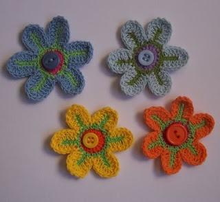 Flores a Crochet: Flore Tejida, Flore Crochet, Flore Rosa-Choqu, Hacer Flore