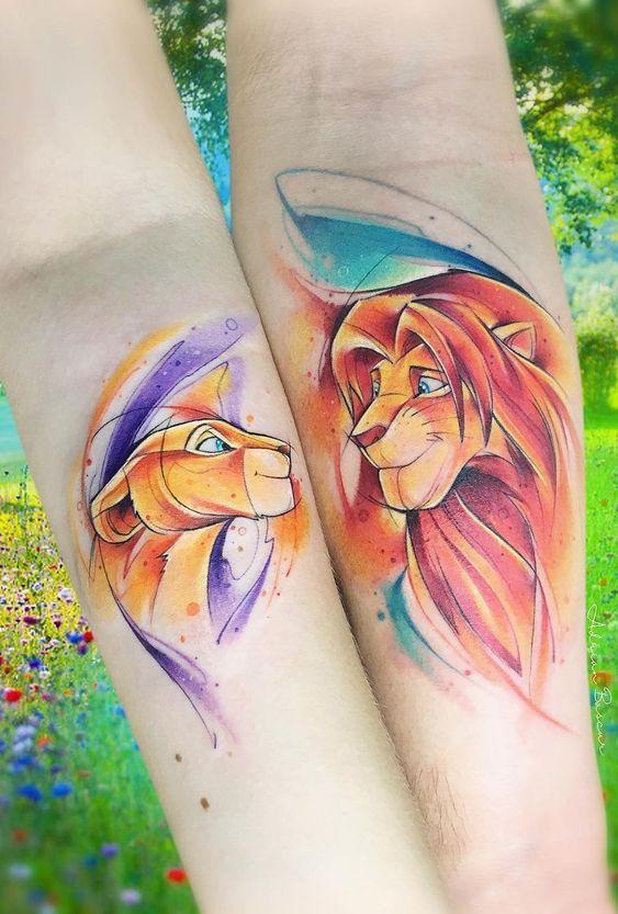 Top 10 Tatuagens de Rei Leão de vários estilos para te inspirar | Tatuagem de rei leão, Tatuagens de rei, Tatuagem rei leão