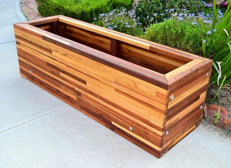 Cheap Large Planters For Outdoors Part - 21: Exterior: Exciting Design For Large Outdoor Planter Boxes Large Wood Planter  Boxes, Planter Box