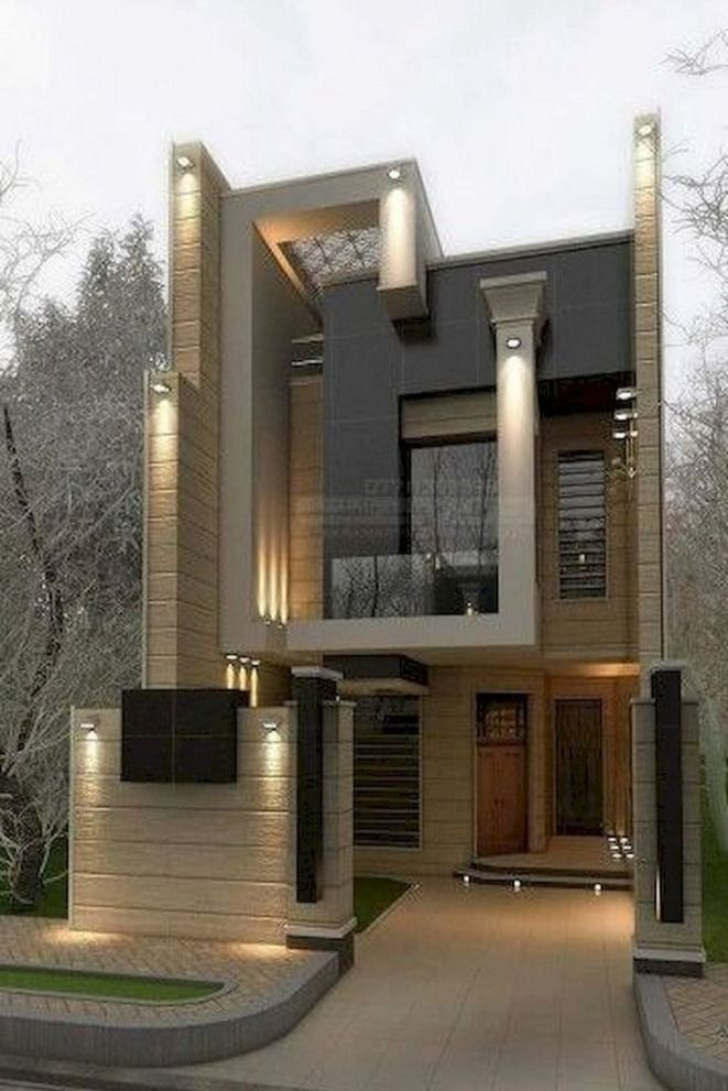 35 Fabulous Modern Dream House Exterior Ideas 30 In 2020 Contemporary House Exterior Cool House Designs House Front Design