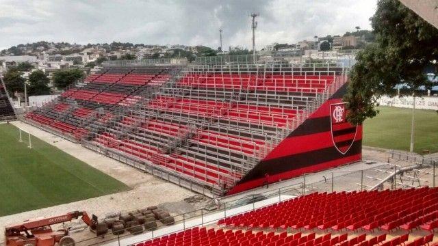 CBF nega pedido do Flamengo para jogar clássico na Arena da Ilha