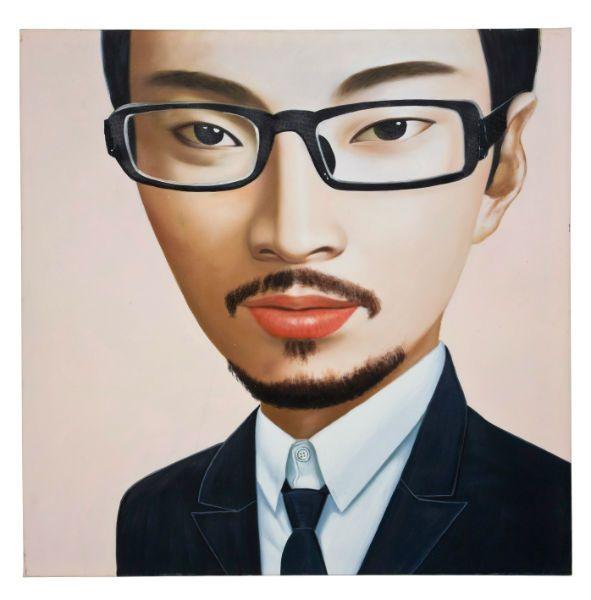 Πίνακας Ελαιογραφία Business Man 100x100