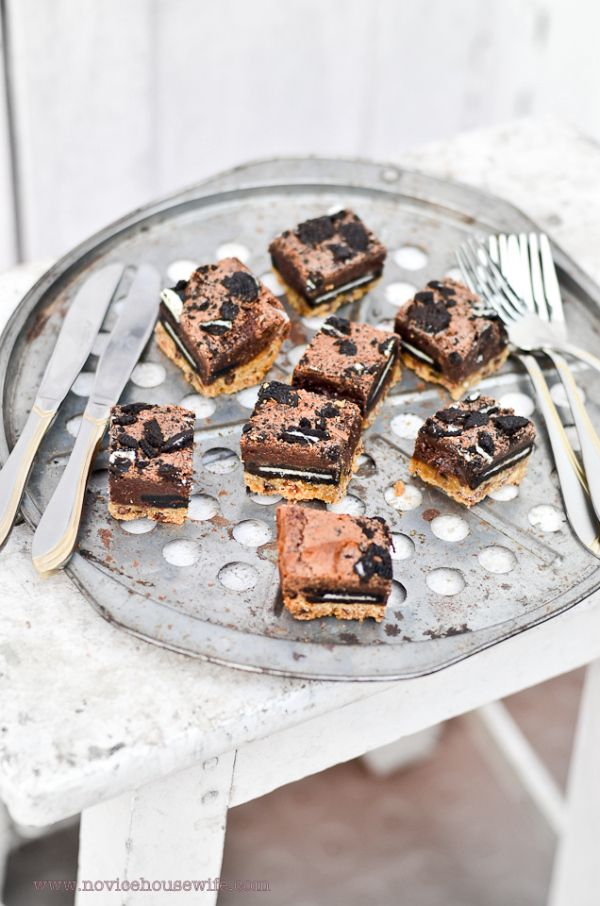 Slutty Brownies..... - The Novice Housewife