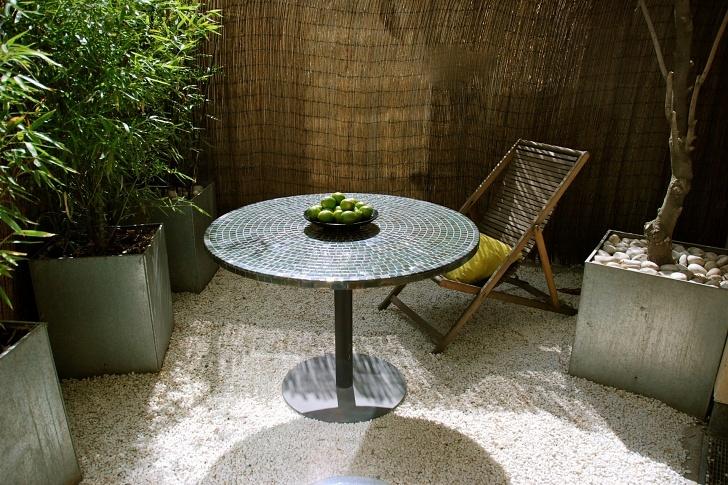 Terrace at No.5 Maddox Street, London