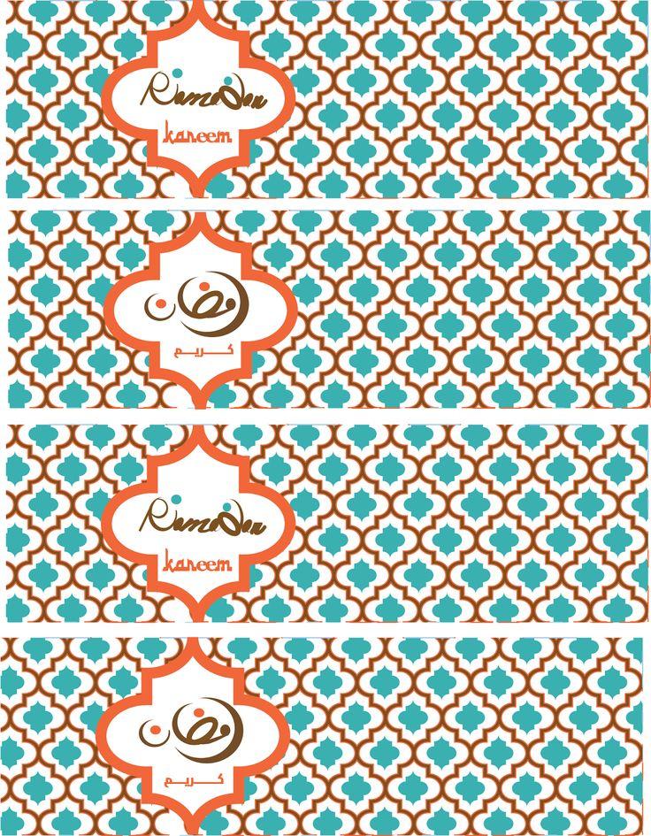 Ramadan Kareem Water Bottle Covers | Eid Creations