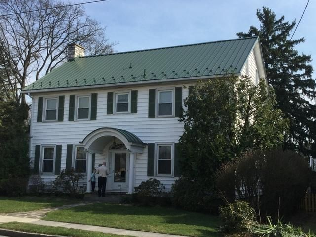 Middle Creek Roofing Metal Roofing Photo Album Standing Seam Metal Roof Replacement In Annville Pa In 2020 Standing Seam Metal Roof Standing Seam Metal Roof