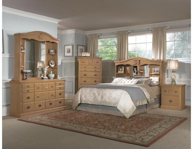 Best Country Style Master Bedroom English Picture