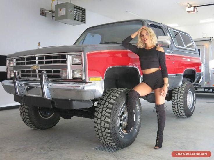 1987 Chevrolet Blazer SILVERADO K5 #chevrolet #blazer #forsale #canada