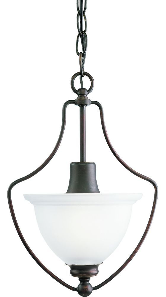 Madison Collection Antique Bronze 1-light Chandelier Reg price: $88.95