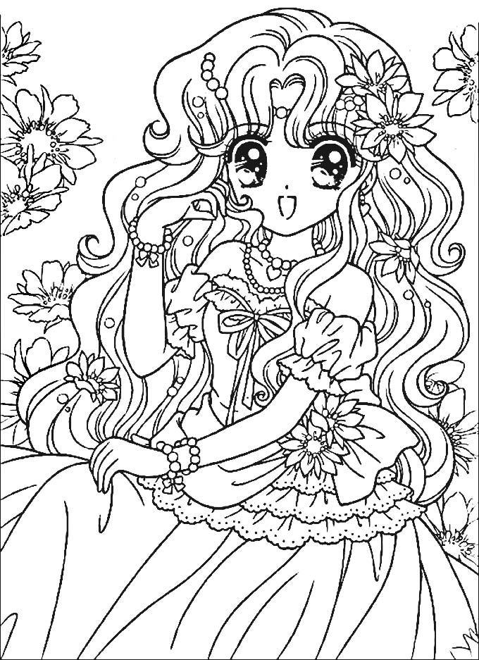 √ Anime Coloring Pages for Adults