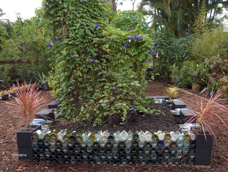 A bottle garden we have the bottles gardens and for Jardin de ruth wine