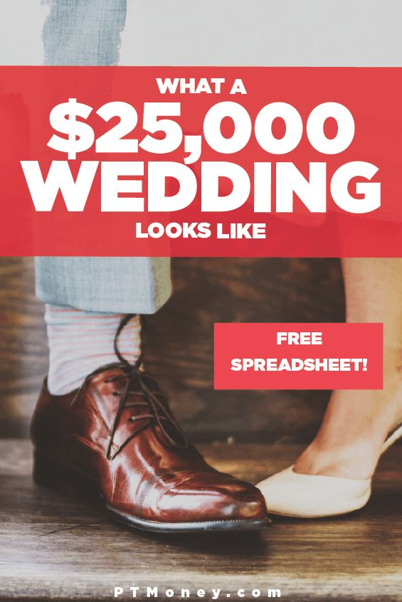 What a $25,000 Wedding Looks Like | Free Wedding Spreadsheet | Wedding Budget Template | Cost of a Wedding