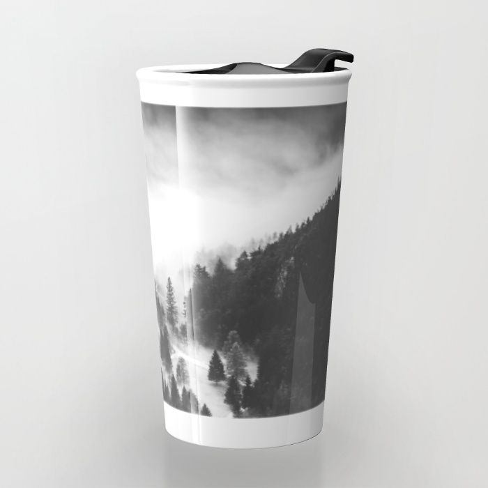 Ghostly Travel Mug by Mixed Imagery | Society6