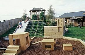 Climbing Hill for Young Children | Naturally Wood by Design. Child Care Furniture and Design