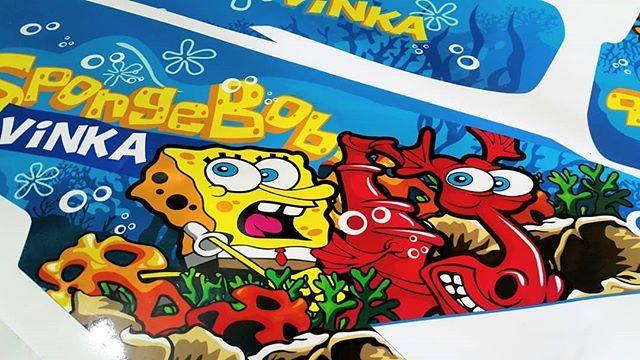 Decal vario 150 SpongeBob SquarePants    #honda #hondavario150 #vario150 #spongebob #decal #decalsticker #orajet #blacksheepstickart #banyuwangi & follow Instagram kami  @ckdsign