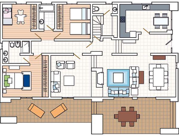 planos casas bien distribuidas Más