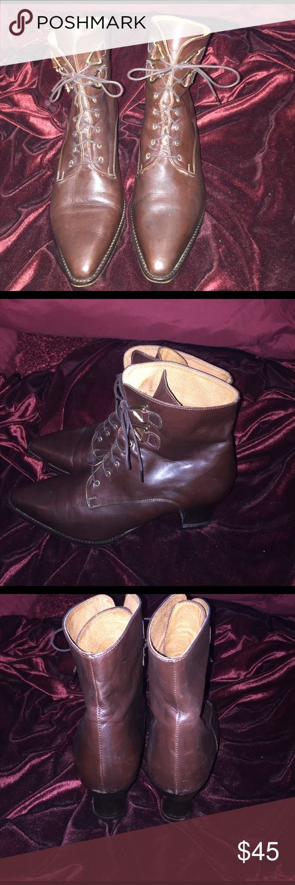 Nordstrom boots Norstrom soft leather brown boots. Nordstrom Shoes Ankle Boots & Booties