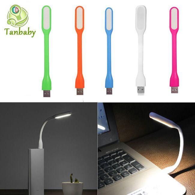 Tanbaby USB led light 1 Вт Белый мягкий свет гибкие светодиодные лампы свет лампы 5 В светодиодные фонари с USB для компьютера power bank