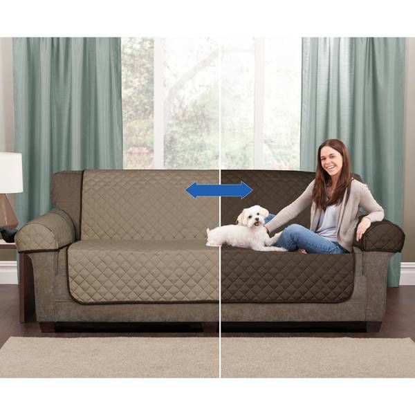 Maintain Your Couch In The State You Want It In With The Reversible Sofa Cover Protector With Dual Colors Sofa Furniture Pet Furniture Covers Furniture Covers