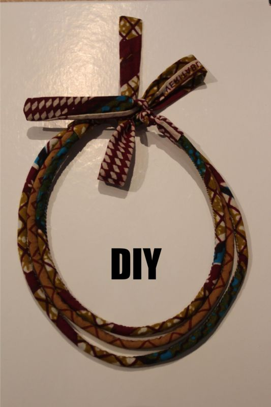 DIY le collier wax