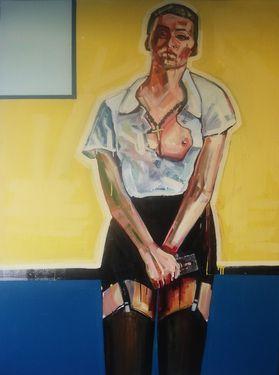 "Saatchi Art Artist Piotr Kachny; Painting, ""DIVId_eNd_E"" #art"