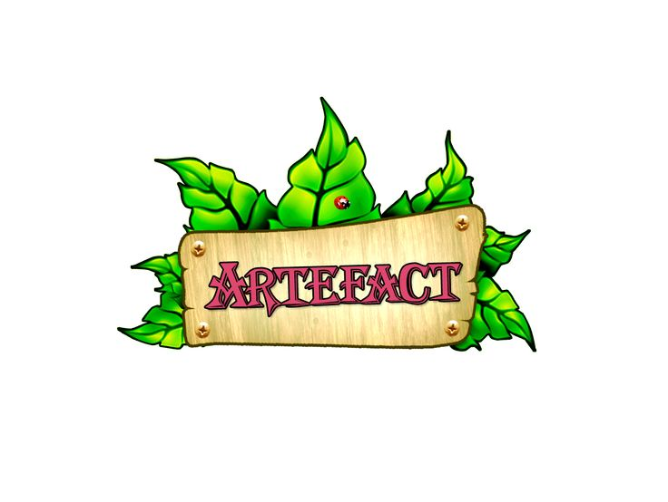 Logo model magazin online Artefact