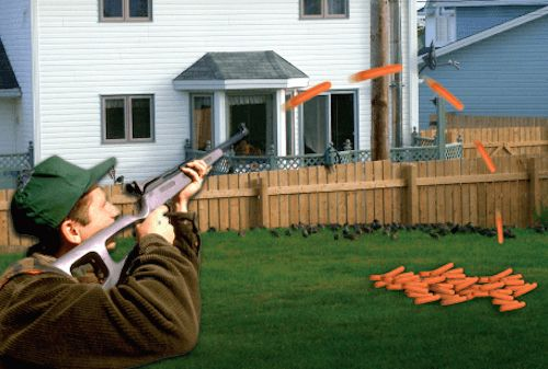 HOT DOG SHOOTER -- This nifty meat gun combines two of America's favorite hobbies—hot dogs and guns—into one fun shooter! Makes a perfect gift for a loved one that likes to pump out a dog FAR. - See more at: http://www.skymaul.com/#sthash.Vo1CvrJs.dpuf
