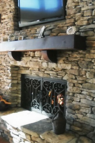 68 Best Fireplace Ironwork Images On Pinterest Fire Places