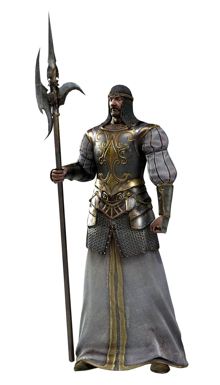 Рендер Dark Souls 2 Blue Knight Targray, Shepard of lost souls, guide to transient beings