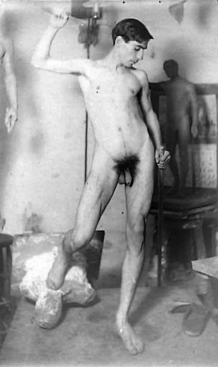 Nude art male poses ebony consider, that