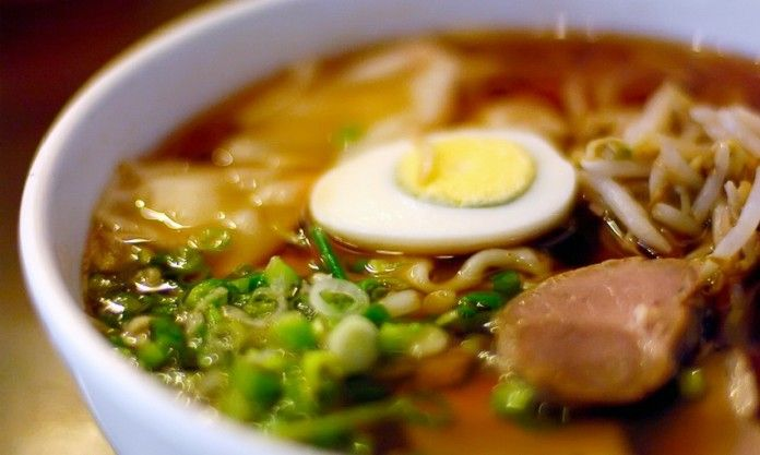 Японский суп рамэн