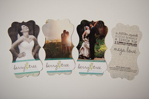 Business Cards!  BerryTree Photography