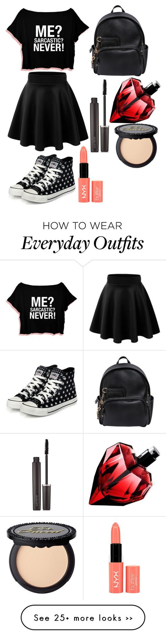 """""""everyday summer outfit :)"""" by thegirlinpink on Polyvore"""