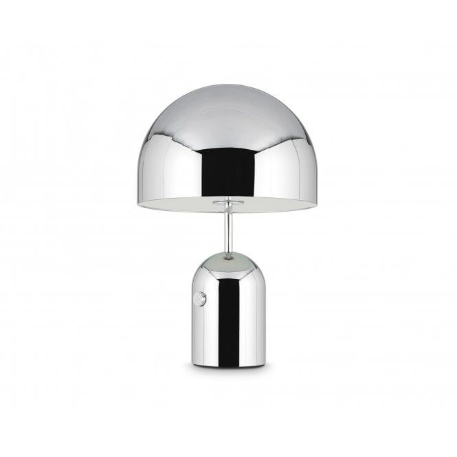 Bell Table Lamp In Polished Chrome Finish Lamp Table Lamp Lounge Lighting