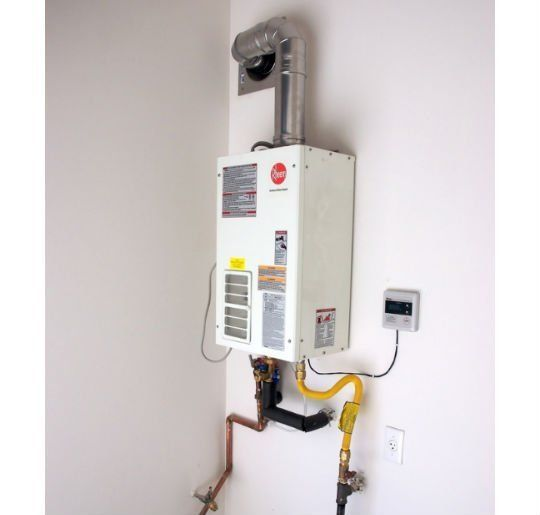location is important with a tankless water heater