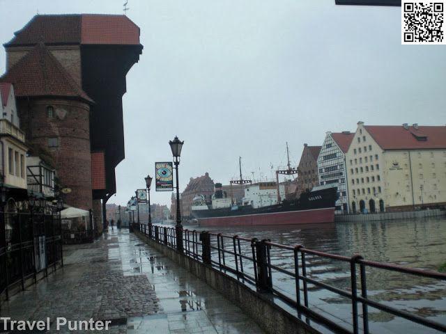 Oldest Tower Crane in #Europe #Gdansk