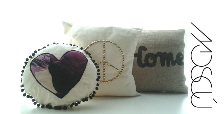 My MOSCÚ pillows, made by myself  Check what I do on: www.facebook.com/MoscuFanPage