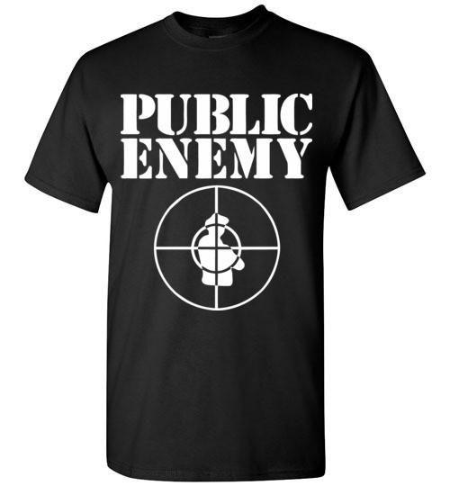 Public Enemy, Chuck D, Flavor Flav,Terminator X, Classic Hip Hop v2 , Gildan Short-Sleeve T-Shirt