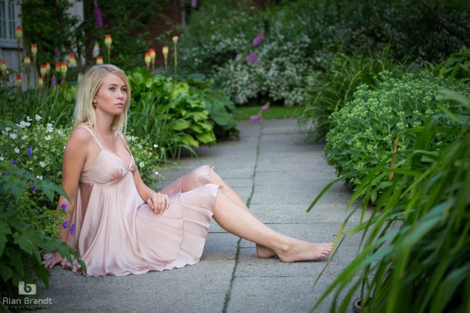 Fairy's at the bottom of the garden... A beautiful summer portrait in a little oasis in the centre of Copenhagen...