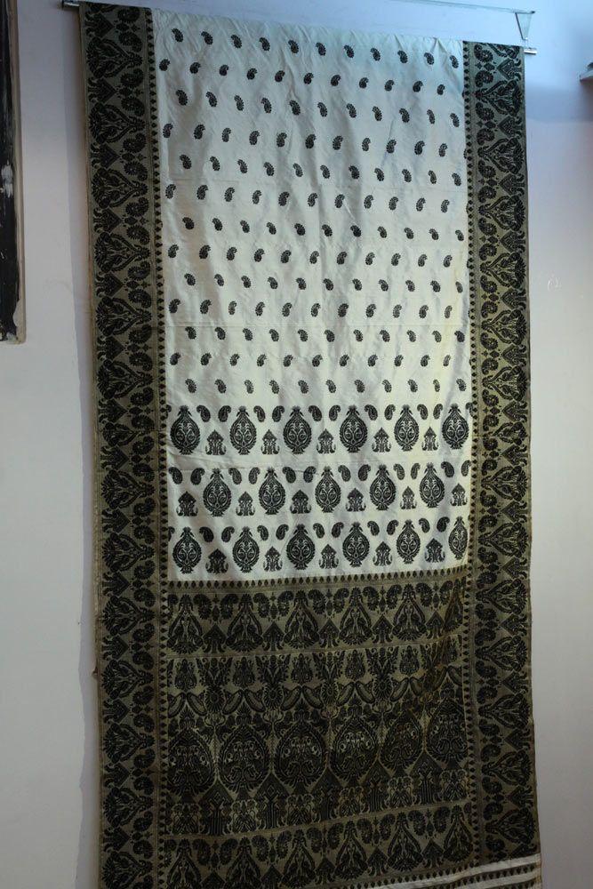 Muga silk of Assam,revived by Sampa Das