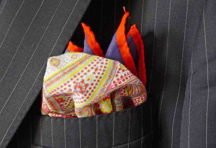"""The Learned Gentleman: """"When it comes to wearing a pocket square there is really only one rule, but it is an enormously important rule... Your pocket square should not exactly match your tie."""""""