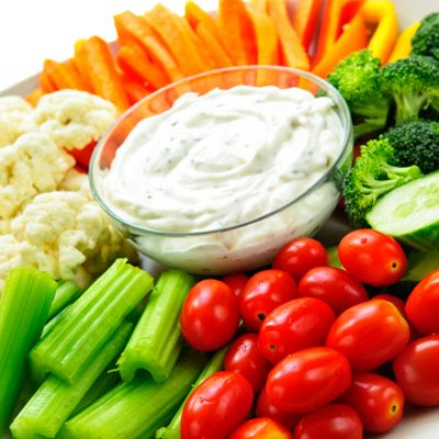 WORST Food to Prevent Gas: Crudite Platter - The Best and Worst Foods to Eat on Your Wedding Day - Shape Magazine - Page 8
