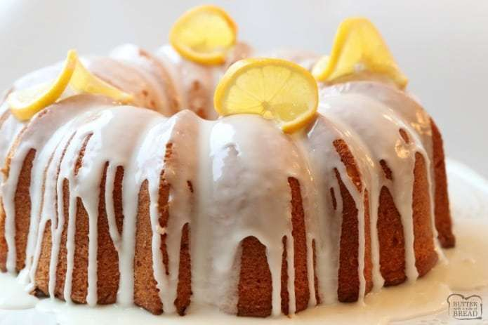 Lemon Buttermilk Pound Cake Is A Classic Pound Cake Recipe With The Addition Of Fresh Lemo Buttermilk Pound Cake Lemon Buttermilk Pound Cake Pound Cake Recipes