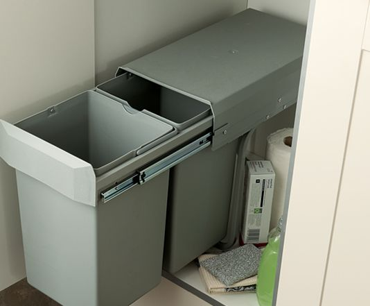 Pull-Out Bin - 2 part option